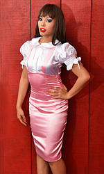 Coco Satin Retro Dress