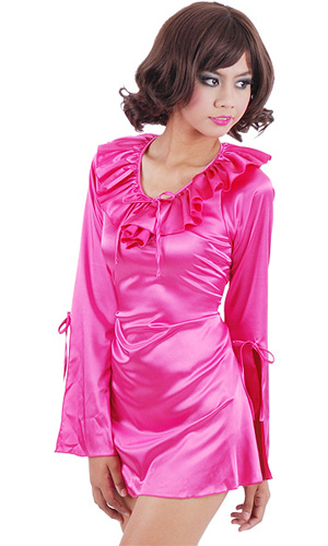 Mona Satin Night Dress