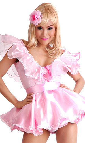 Satin Fairy Dress