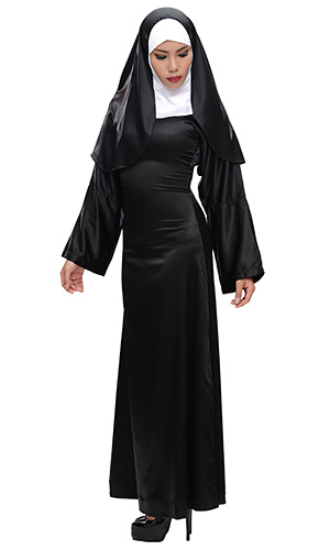 Full Body Satin Nun