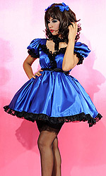 Tazziana Satin French Maid