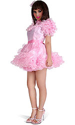 Trixie Sissy Dress with Petticoat