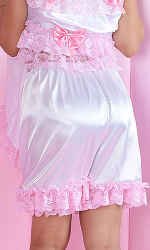 Betty Bows Satin Bloomers