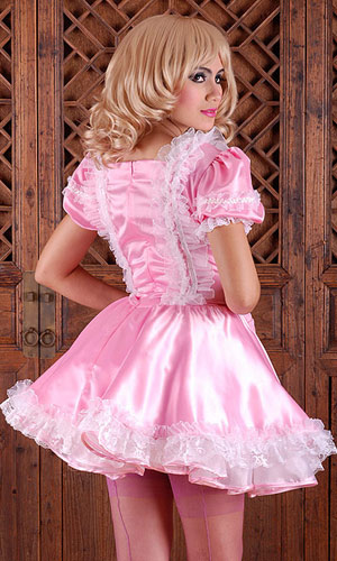 Mimi Satin Sissy Dress