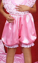 Isobel Luxury Satin Bloomers