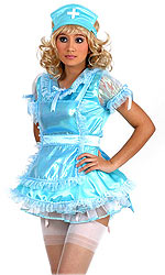 Luxury Satin Night Nurse