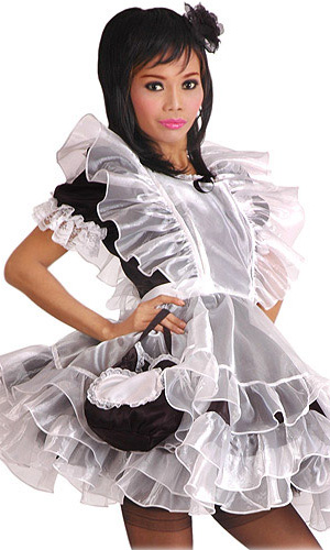 Full Body Sissy Pinafore