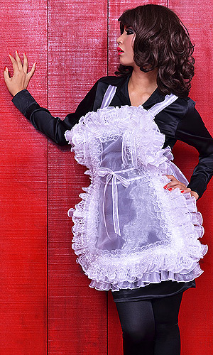 Stepford Wife Full-body Pinafore