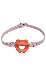 Silicone Oral Gag with Straps