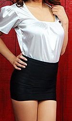 Reena Spandex Mini Skirt