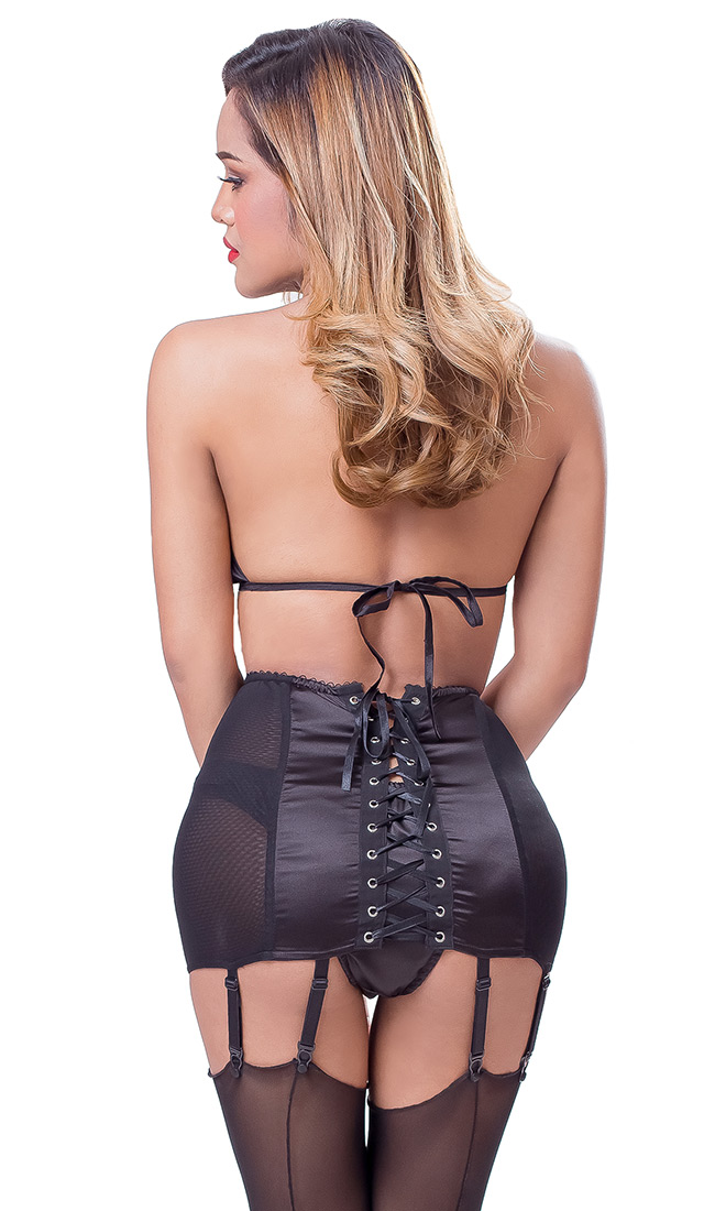 Adira 8-clip Suspender Belt