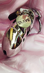 Chastity Tag - SLAVE