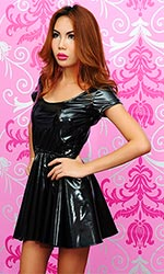 Ailin PVC Mistress Dress