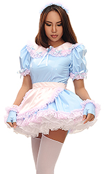 Adaline PVC French Maid