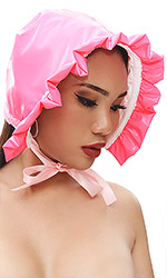 PVC Cute Baby Bonnet