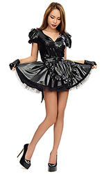 Jina PVC French Maid