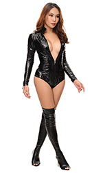 Luxury PVC Bodysuit