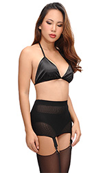 Adelaide Stretch Open-Girdle